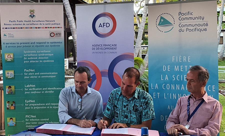 Pacifique : L'AFD officialise son aide sanitaire de 2 millions d'euros