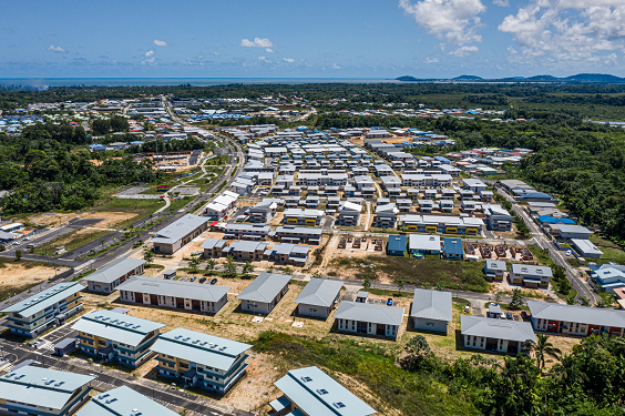 Guyane : Inauguration du Mont Soula et de son parc urbain paysager unique