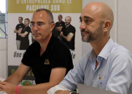 Benoit Maritan, du cabinet de conseil, « Cessions Acquisitions ».