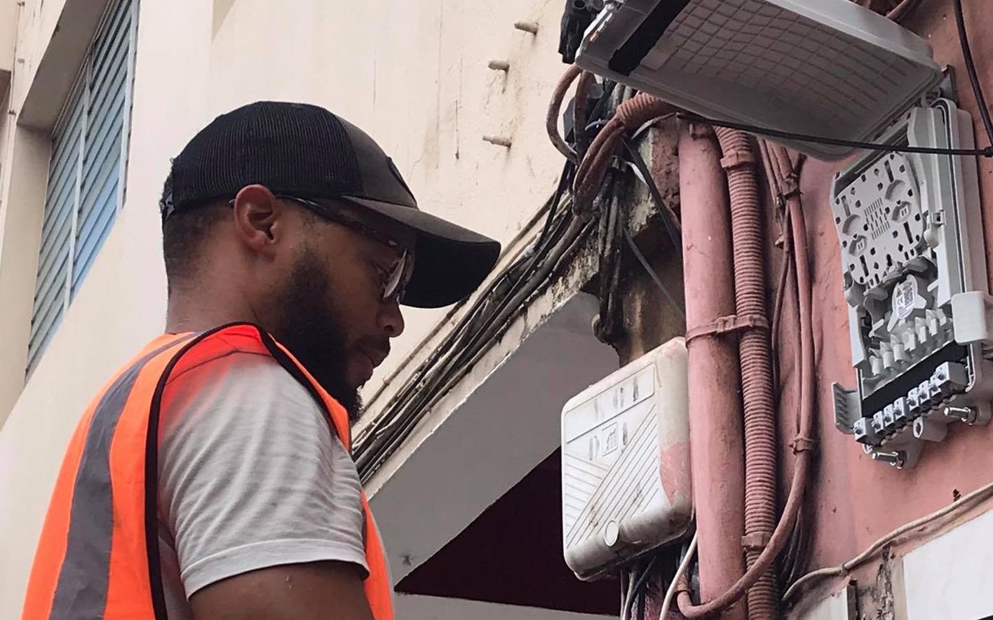 Martinique: Le centre-ville de Fort-de-France bientôt relié à la fibre optique