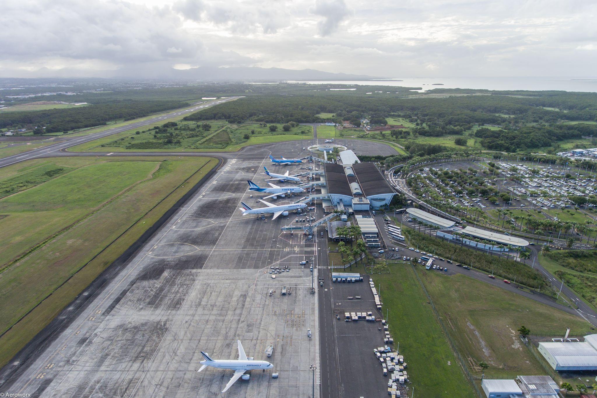 Guadeloupe : À l'Aéroport de Pointe-à-Pitre, la fréquentation en chute libre
