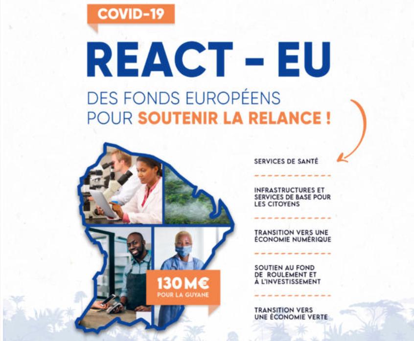 Guyane : une enveloppe d'environ 130 millions d'euros de fonds européens à venir pour la relance économique