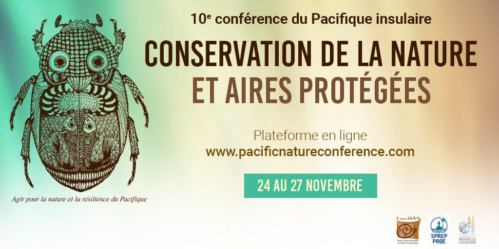 Nouvelle-Calédonie : Une conférence pour la conservation de la nature et des aires protégées du Pacifique