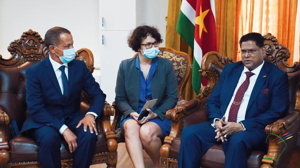 Guyane : Visite officielle de Rodolphe Alexandre au Suriname : coopération, frontières, ferry boat, ressources naturelles au programme
