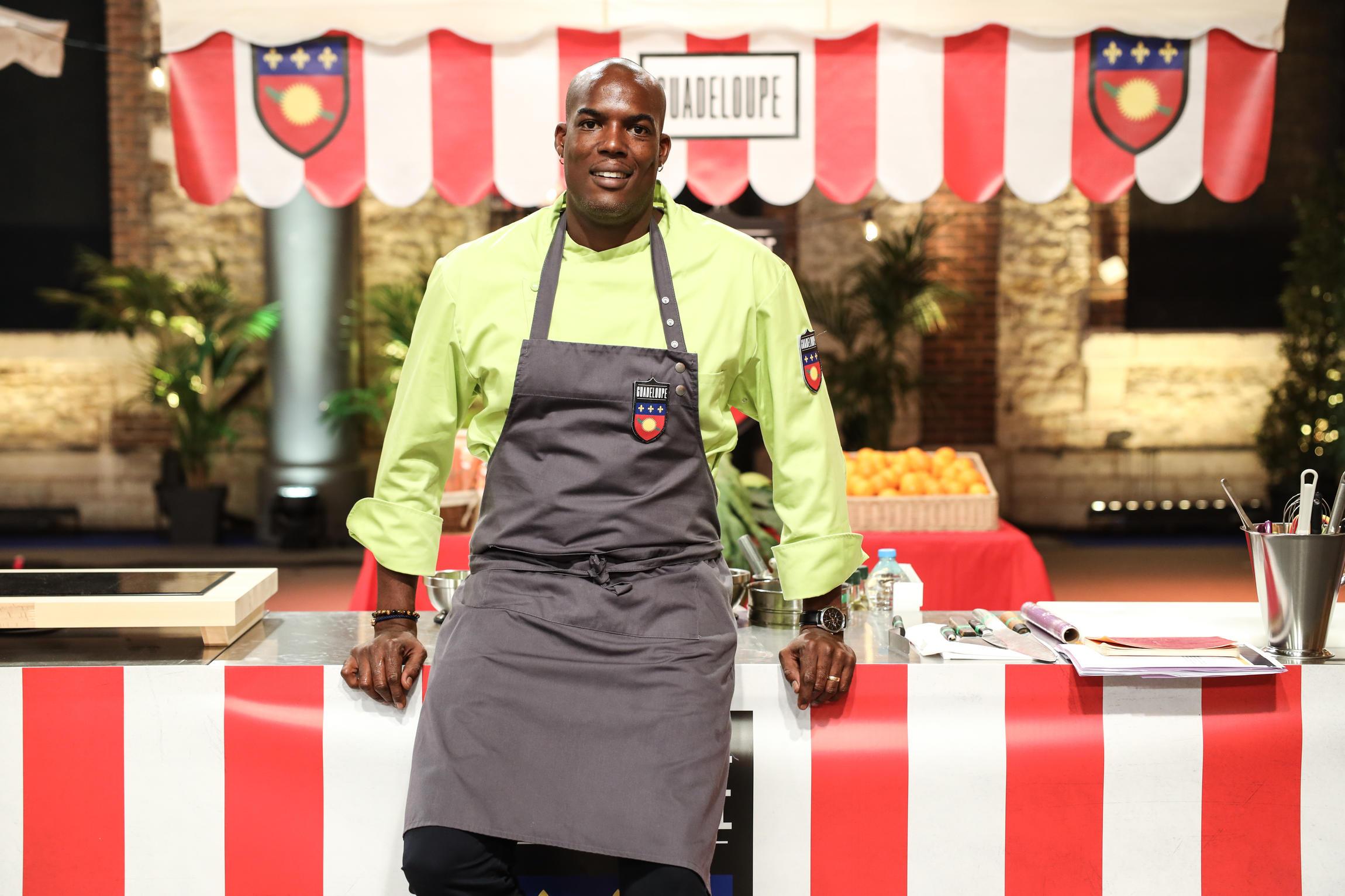 Gastronomie :  Le chef guadeloupéen Jimmy Bibrac défendra le migan de fruit à pain et le tourment d'amour dans le Grand Concours des Régions sur France 3