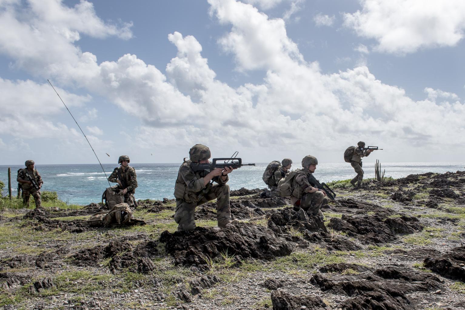 Fin de l'Exercice Caraïbes 2020 en Martinique