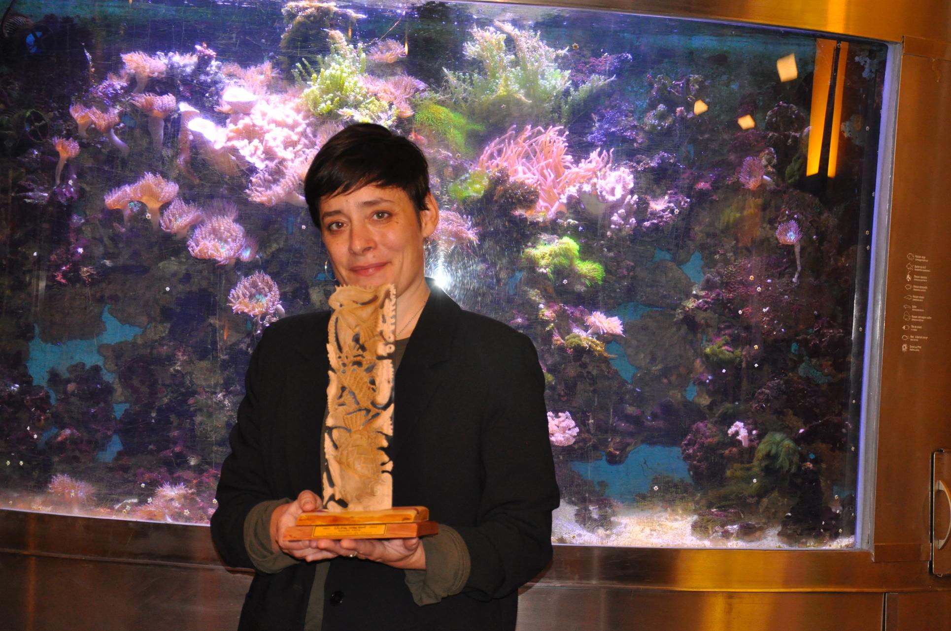 Littérature : Estelle Faye, lauréate du prix calédonien « Livre mon ami »