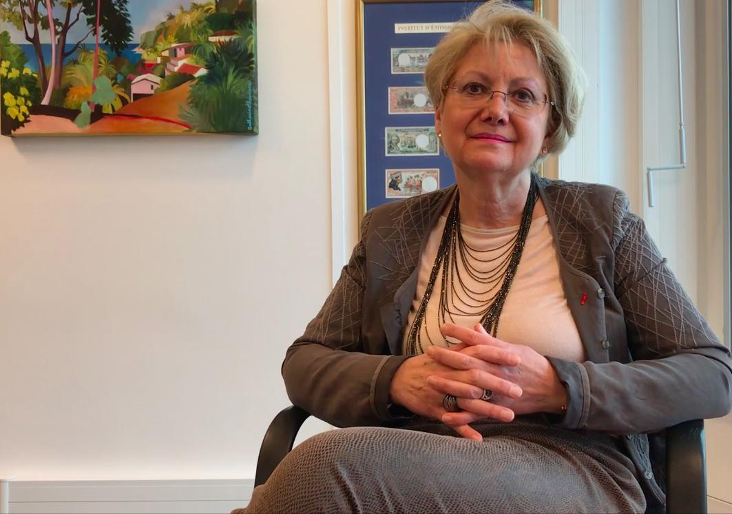 Marie-Anne Poussin-Delmas, dirigeante des Instituts d'émission d'Outre-mer ©Outremers360