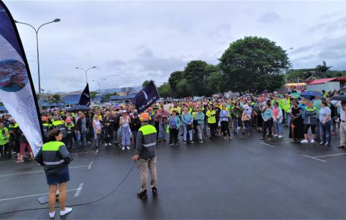 Nouvelle-Calédonie : Mobilisation des employés de la SLN et Vale NC, menacés de chômage par les blocages