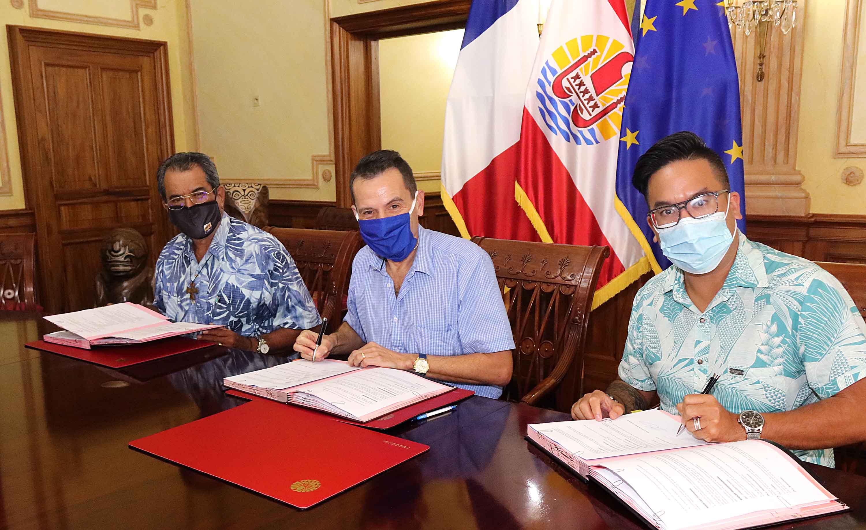 Polynésie: Signature d'une convention de prêt à taux zéro pour le soutien aux petites entreprises avec la Banque des Territoires