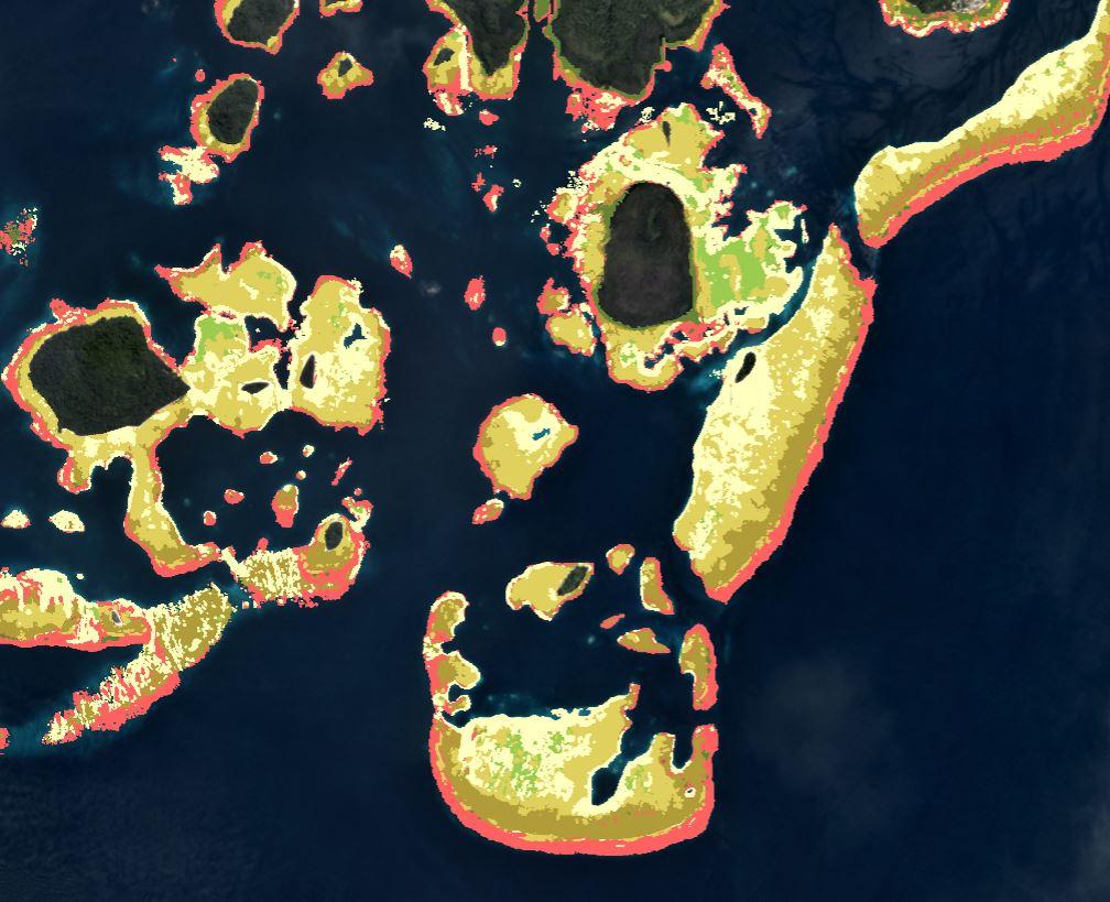 Le Allen Coral Atlas, une carte des récifs coralliens grâce à l'imagerie satellite