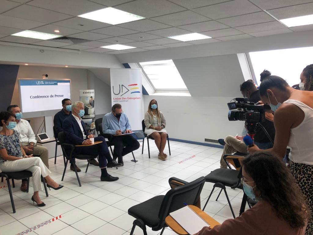 Le Medef Guadeloupe dresse un bilan en présence de Patrick Martin, président délégué du Medef