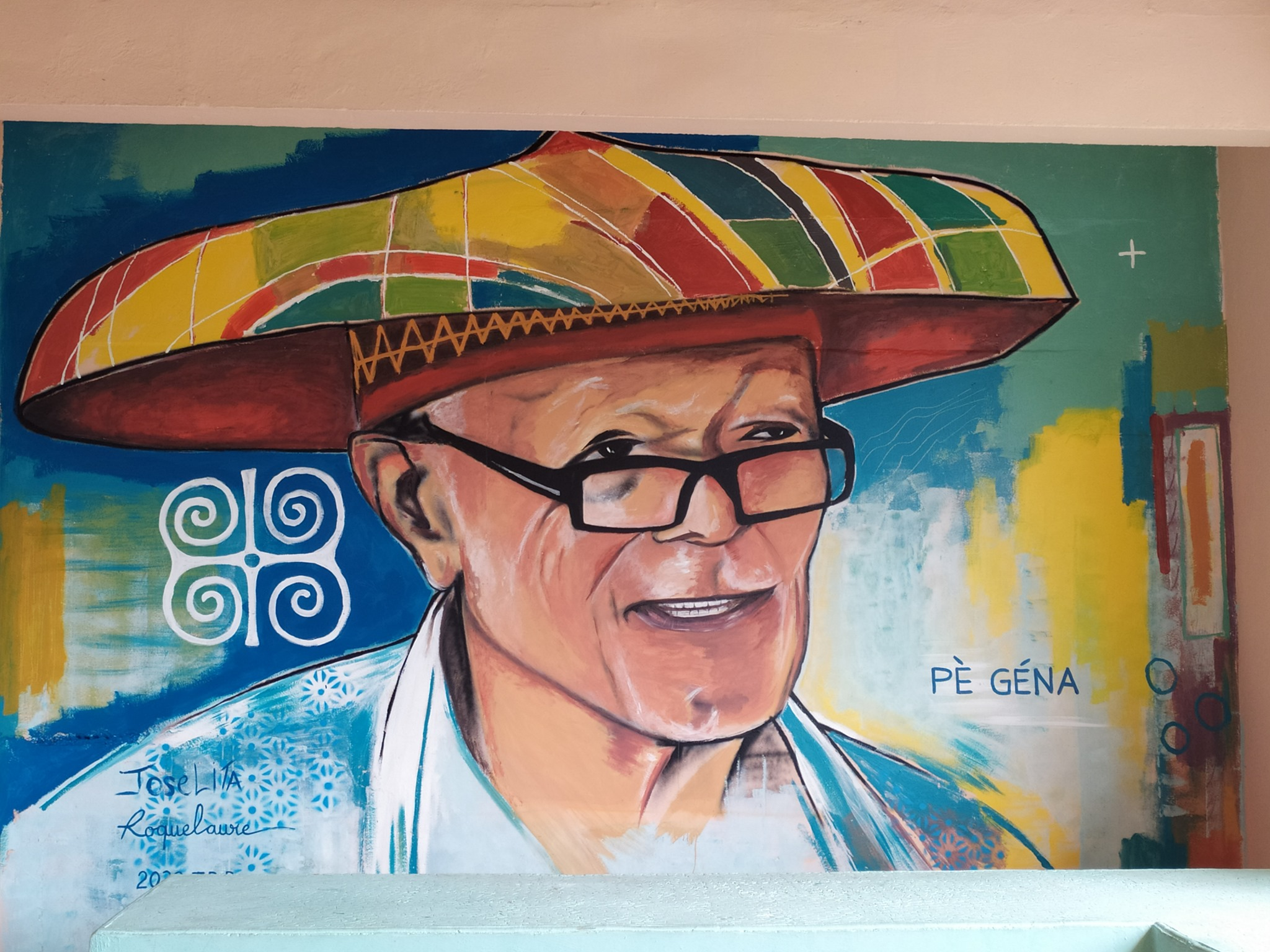 Guadeloupe : Le Street Art au service de la promotion touristique à Terre- de-Bas, aux Saintes