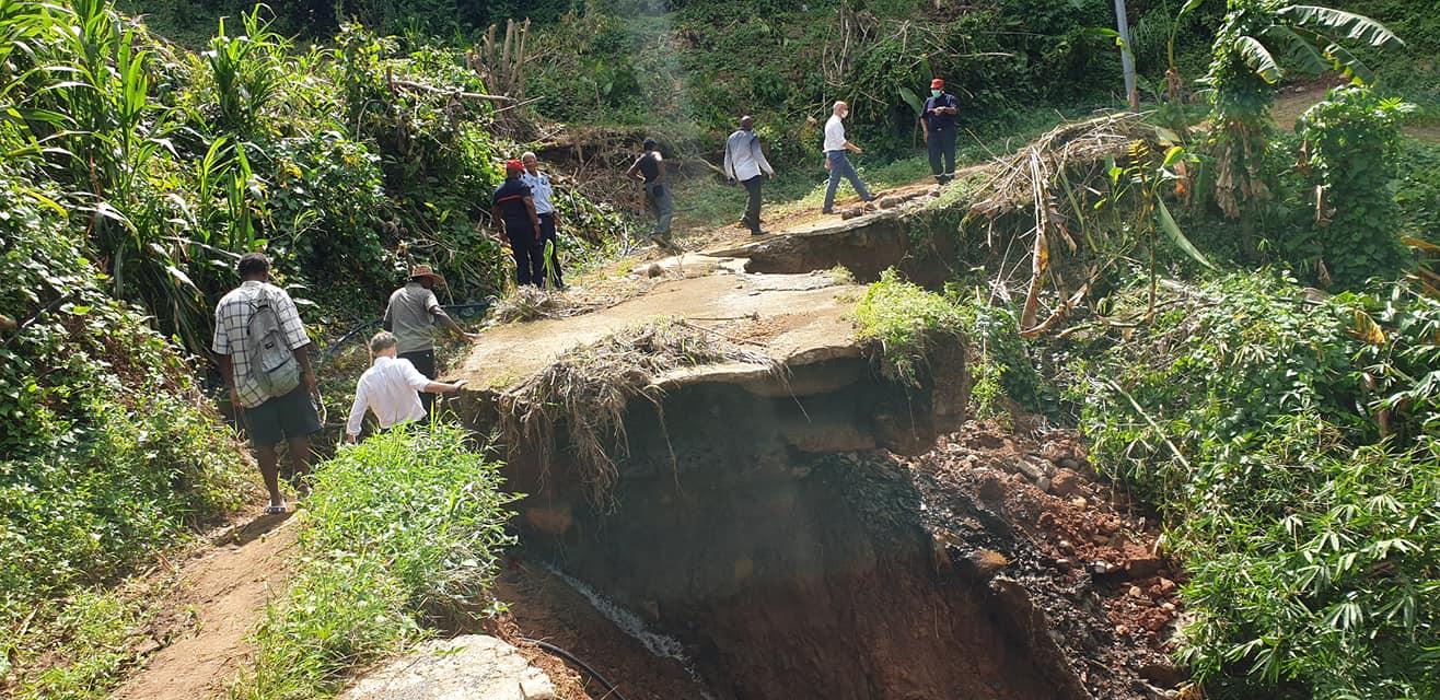 Martinique : Création du comité de pilotage de suivi des sinistrés des intempéries de novembre 2020