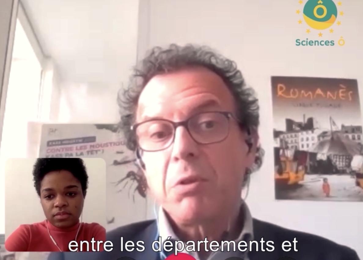 Ô tour de la santé avec François Klein, chef de la mission Outre-mer de la DGS : « Dans l'ensemble des territoires d'Outre-mer, plus ils sont isolés, éloignés, plus c'est une chance pendant une pandémie»