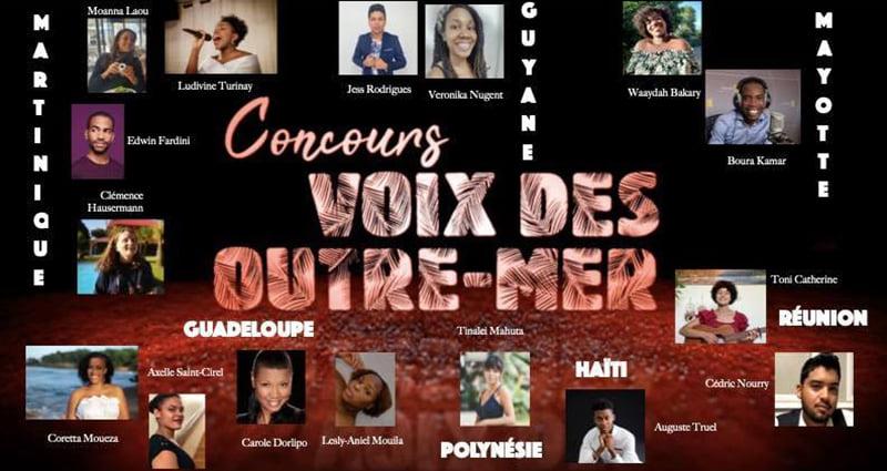 3ème édition du concours Voix des outre-mer : 16 candidats en compétition à l'opéra de Paris pour une finale nationale à huis clos
