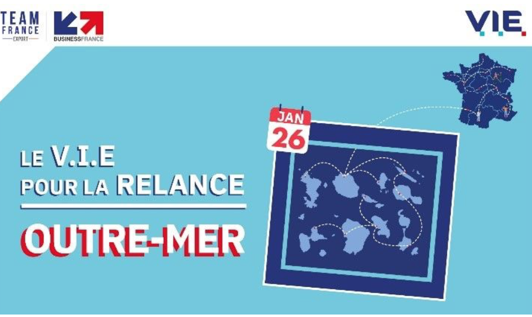Un webinaire de Team France Export pour relancer l'export à travers le V.I.E dans les Outre-mer
