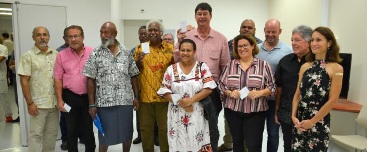 Covid-19: début de la vaccination en Nouvelle-Calédonie