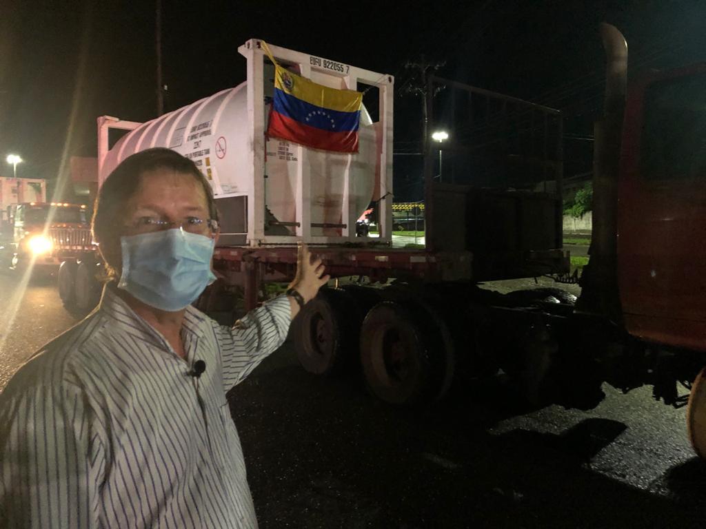 Covid-19 au Brésil : Arrivée à Manaus de camions d'oxygène donnés par le Venezuela