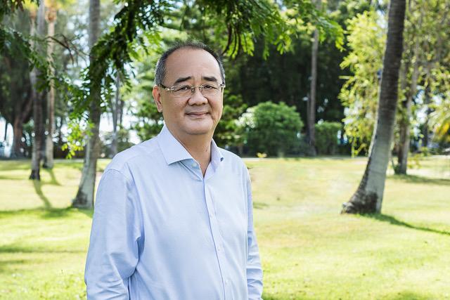 Éric Leung, président de la CPME Réunion ©CPME