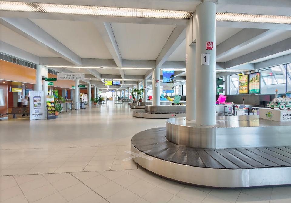 Tourisme en Martinique : La fréquentation de l'aéroport Aimé Césaire chute de 50 % en 2020
