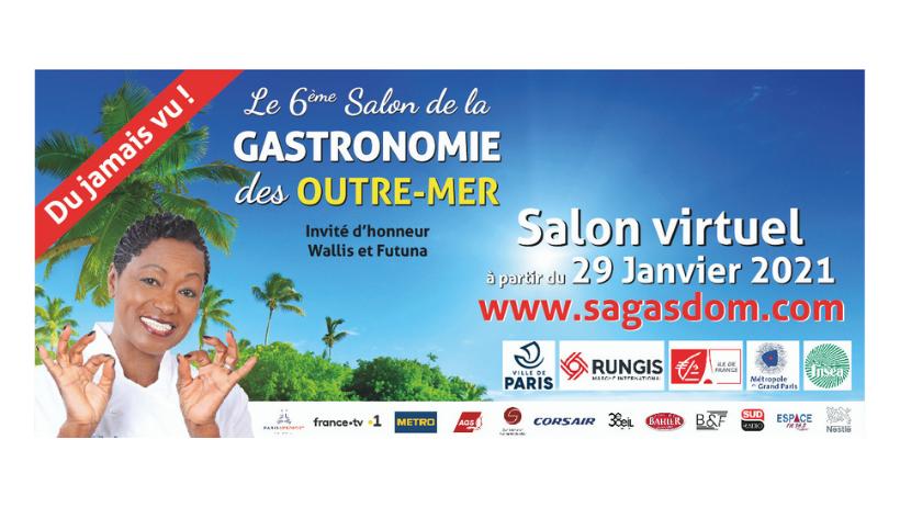 Salon de la Gastronomie des Outre-mer et de la Francophonie : Une 6ème édition en mode virtuelle pour garder le lien