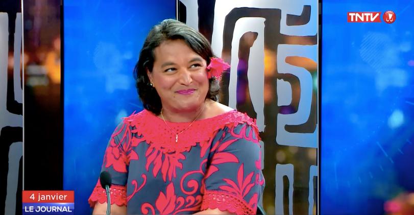 La députée Stéphanie Atger en déplacement en Polynésie sur le sujet des retraites