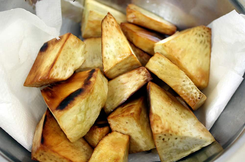 Des frites de Uru ©Tahiti Heritage
