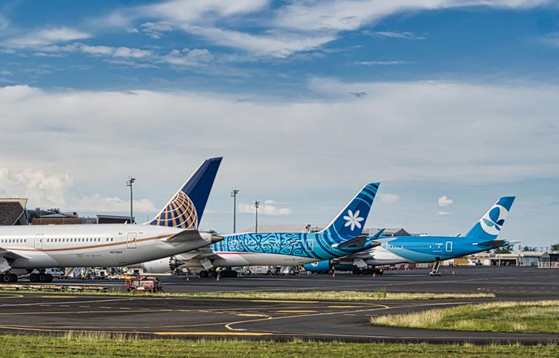 Les compagnies desservant la Polynésie devraient modifier leur programme de vol ©PYF Spotters