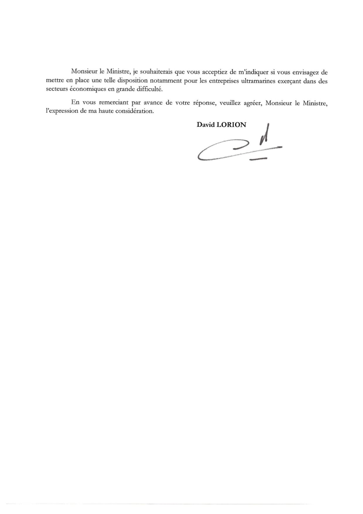 COUR MINECO conversion des PGE en AE pour les secteurs économiques en difficulté en OM 03fev2021