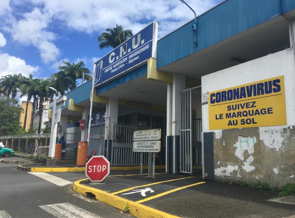 Covid-19 en Guadeloupe : Le CHU lance la phase 1 de son scénario 3ème vague
