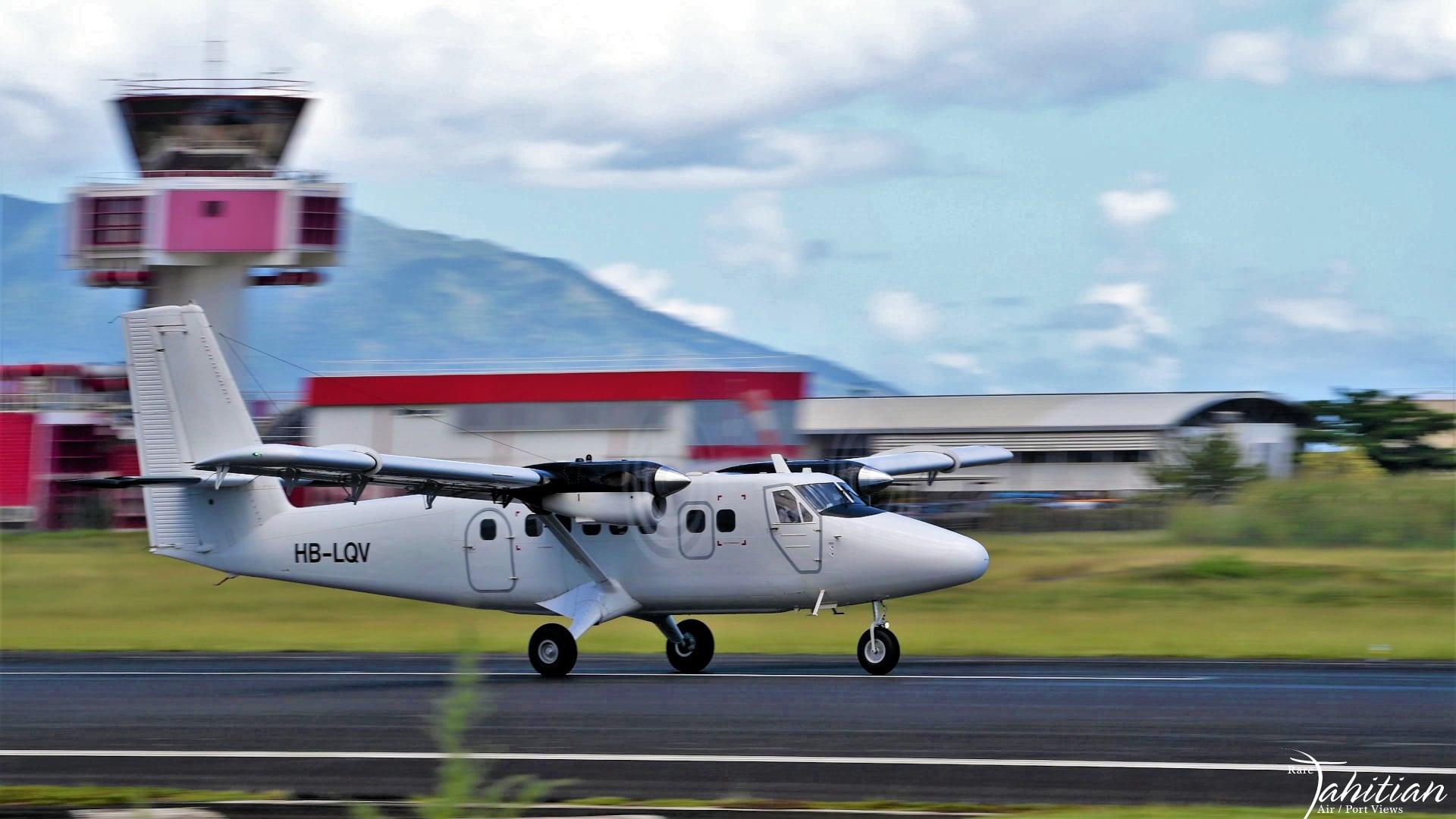 Desserte aérienne : Aux îles Marquises, une compagnie suisse en attendant l'arrivée de Tahiti Air Charter