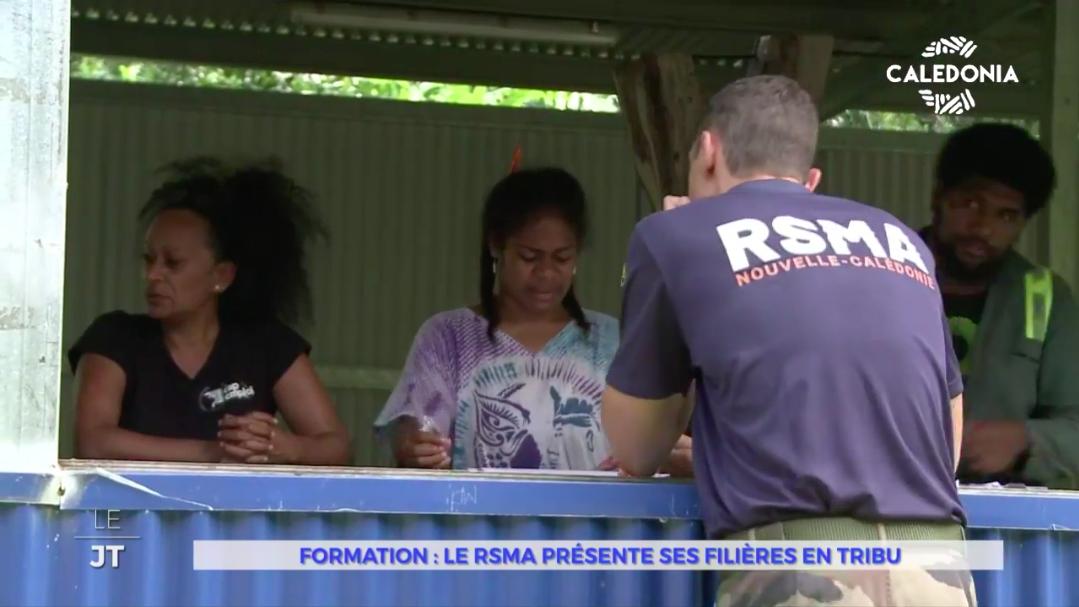 Nouvelle-Calédonie : Le RSMA fait sa tournée d'information de filières en tribu