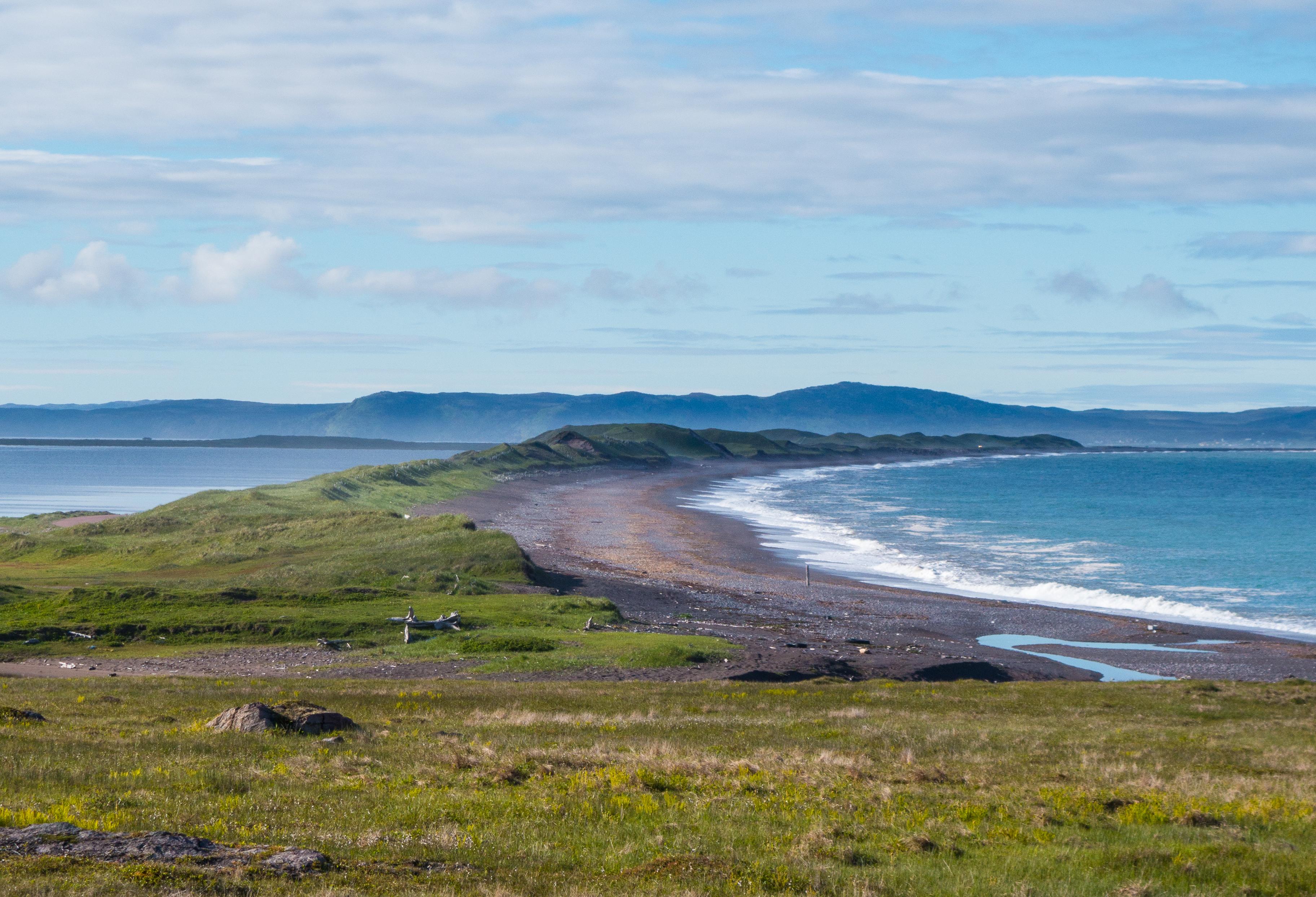 Changement climatique : Le député de Saint-Pierre-et-Miquelon Stéphane Claireaux souhaite un déblocage d'un fonds d'urgence pour stabiliser le cordon dunaire de l'isthme de Miquelon-Langlade