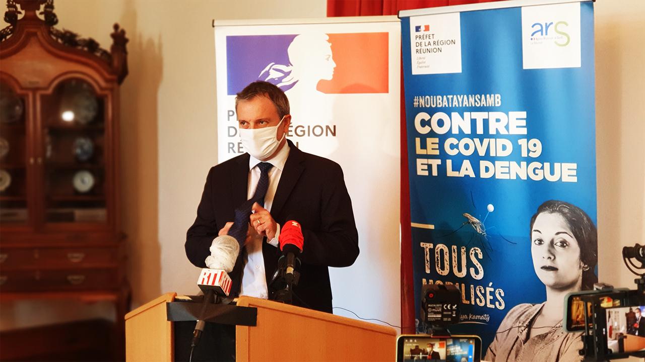 Covid-19- La Réunion: Couvre-feu abaissé à 18h, évacuations sanitaires vers Paris, les mesures du Préfet pour éviter le confinement