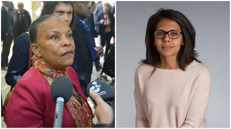 Régionales 2021 : Christiane Taubira apporte son soutien à Audrey Pulvar en Île-de-France