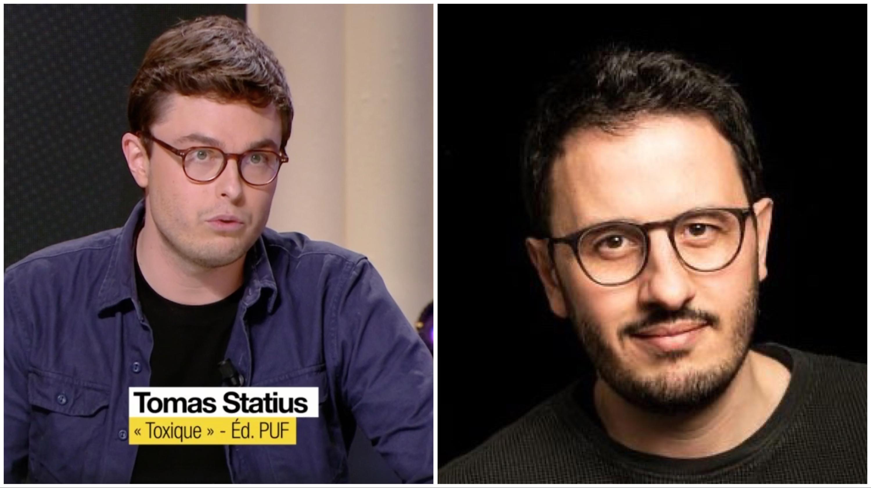Tomas Statius et Sébastien Philippe ©Capture d'écran / Twitter