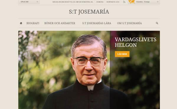 S:t Josemarías hemsida