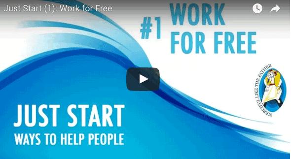 En marcha (1) : Trabajar por los demás