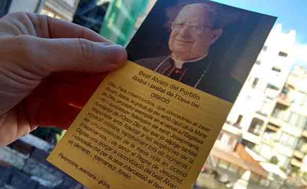 Pregar al beat Àlvar del Portillo