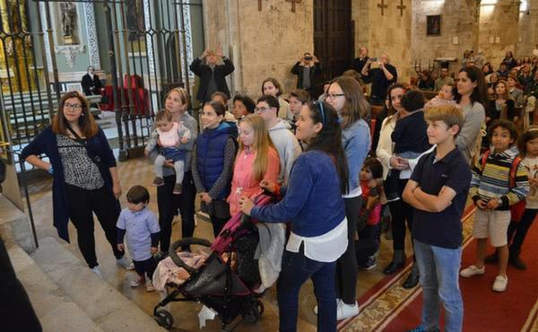 Venezolanos residentes en Valencia rezaron ante su patrona por la paz en su país