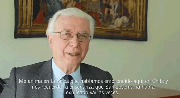 """""""Me anima en la tarea que habíamos emprendido aquí en Chile"""""""