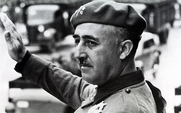 12. Qual a sua atitude perante a ação de Franco durante a guerra?