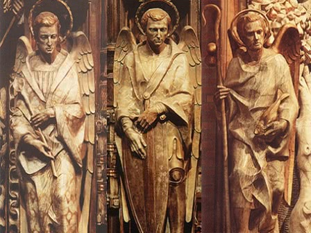 St Josemaria and the Archangels