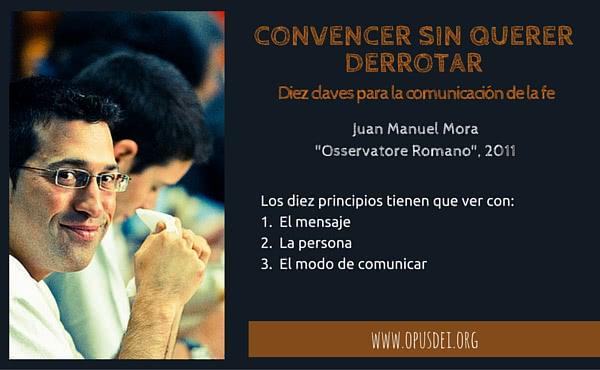 Convencer sin querer derrotar: diez claves para la comunicación de la fe