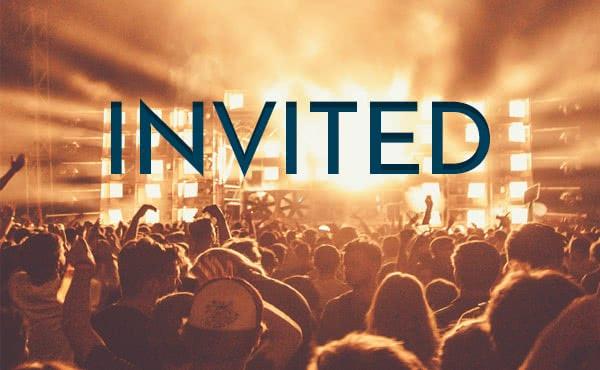 Invited: tienes un sitio reservado