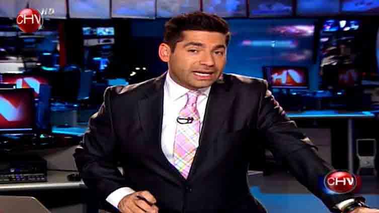 Nota aparecida en noticiero central de Chilevisión