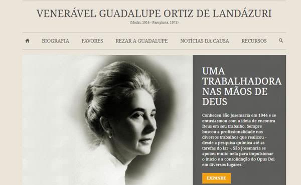Website de Guadalupe Ortiz de Landázuri