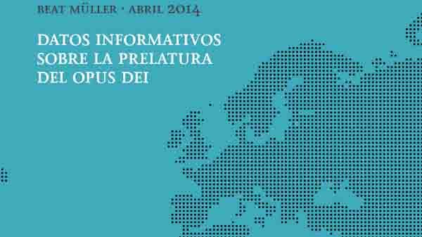 Folleto con datos informativos sobre el Opus Dei