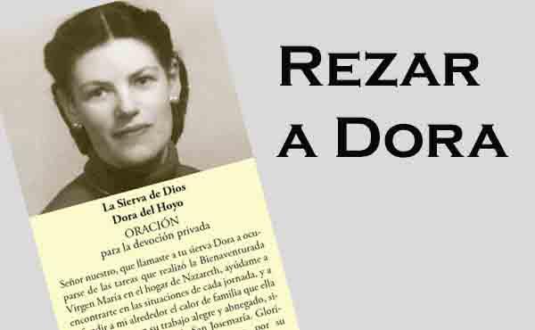 Oración para la devoción privada a Dora del Hoyo
